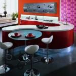 çok şık ve en yeni mutfak masa tasarımları