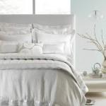 Beyaz Saten Uyku Seti Modelleri 2012