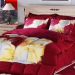 Kırmızı Romantik Uyku Seti Modelleri 2012