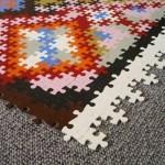 Puzzle Temalı Step Halı Modelleri Çeşitleri 2012