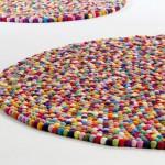 Renkli Toplardan Oluşmuş Step Halı Model Çeşitleri 2012