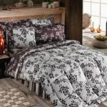 Sade Dizayn Edilmiş Çiçekli Uyku Setleri Çeşitleri 2012