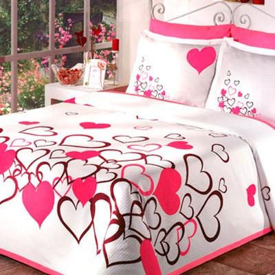 Sevgililer Gününe Özel Tasarlanmış Nevresim Takımı Modelleri 2012