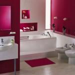banyoda gül kurusu rengi