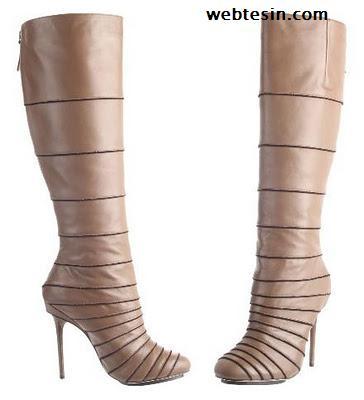 bayan uzun çizme modelleri