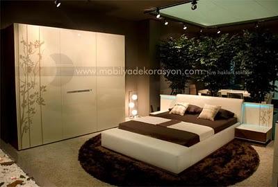 en son moda yatak odaları