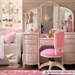 2012 pembe genç kız odası dekorasyonu