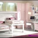 iki kardeş için farklı bir dizaynda genç odası dekorasyonu