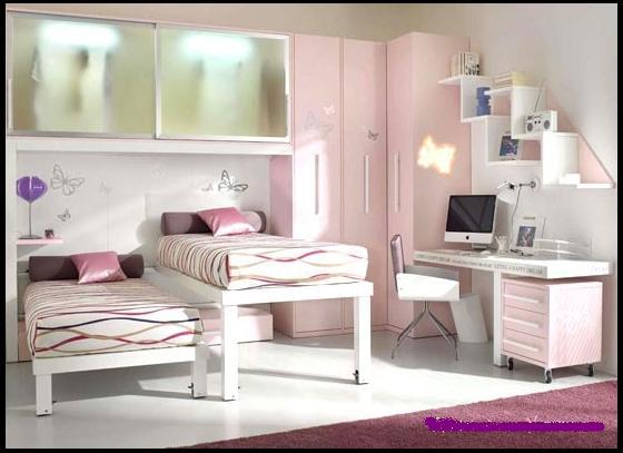Bir genç için bir oda tasarımı