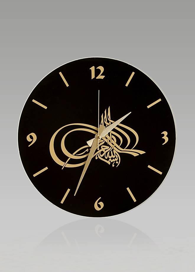 kuran yazili dekoratif saat modelleri
