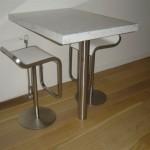 mermer mutfak masası