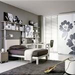 siyah genç odası dekorasyonu yeni trend