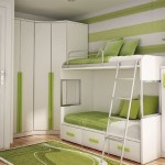 yeşil dekore edilmiş genç odası dekorasyonu