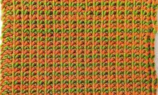Çizgili Lastik Örgü Tekniği