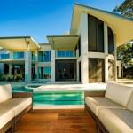 çatı katlı modern triplex villa tasarımları