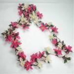 çiçekli iğne oyası örneği