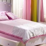 çilek genç odası 2 li yatak tasarımı