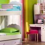 çilek genç odası ranza tasarımı