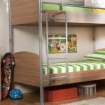çilek genç odası tasarımı ranza modeli komodin