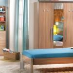 çilek modern genç odası tasarımı  duvar paneli
