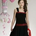 çocuksu genç abiye elbise modelleri