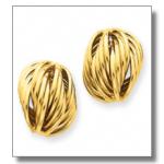çok farklı altın küpe örnekleri