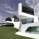 çok farklı triplex ev dizaynı