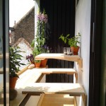 çok güzel kullanışlı katlanır balkon masaları