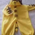 çok ilginç aslanlı bebek tulumları