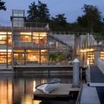 çok lüks en modern triplex villa modelleri