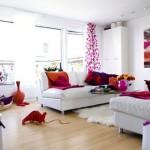 çok renkli çok güzel oturma odaları