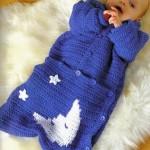 çok tatlı en güzel bebek uyku tulumu modeli