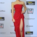 ünlüerde trend kırmızı elbise modelleri