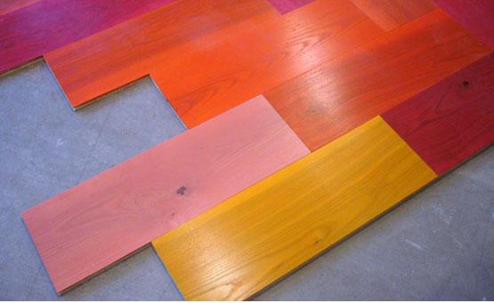 şirin renkli modern lüx parke tasarımı