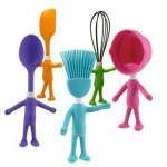 şirin renkli mutfak aksesuarları