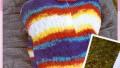 Renkli Bebek Örgü Uyku Tulumu Modeli