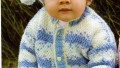 Bebekler İçin Örgü Hırka Pantolon ve Şapka Üçlü Takımı