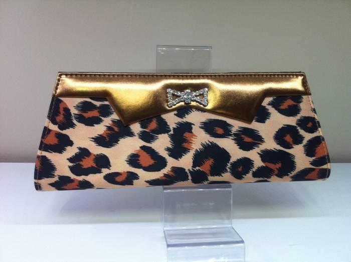 2012 abiye leopar el çantası modelleri