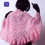 2012 bayan örgü pelerin modelleri