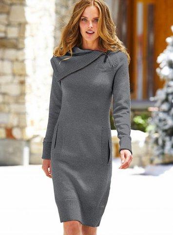 2012 bayan kışlık elbise modeli