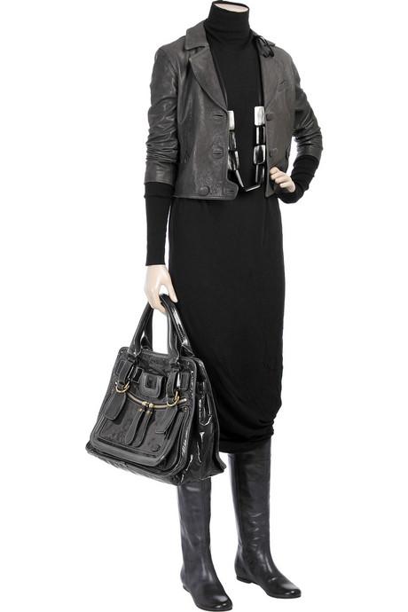 2012 modern bayan kış elbise modeli