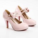 2012 pudra ten rengi bayan ayakkabıları