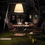 2012 trendi modern bahçe ışıklandırması