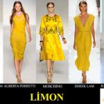 2012 yaz renk trendleri limon