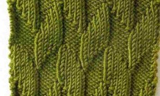 Ağaç Kabuğu Örgü Tekniği