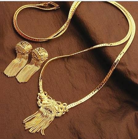 altın kaplama takı seti