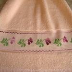 Etamin işi banyo havluları