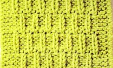 Kabartmalı Çubuk Örgü Tekniği