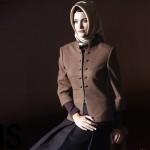 Kahverengi Bayan Ceket Tasarımı