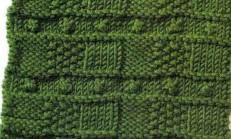 Kareli Tohum Örgü Tekniği
